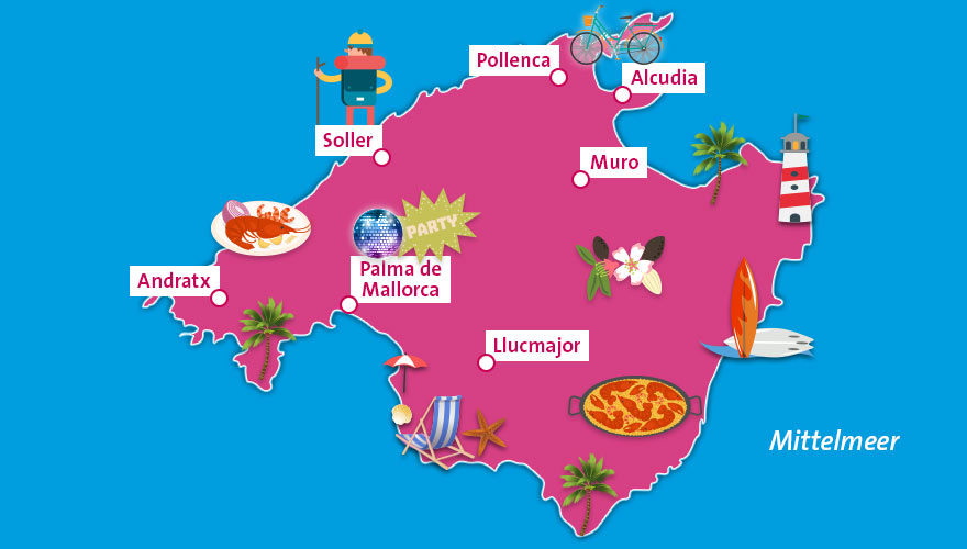 Karte-Mallorca