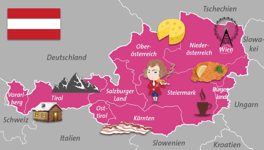 Karte-Oesterreich
