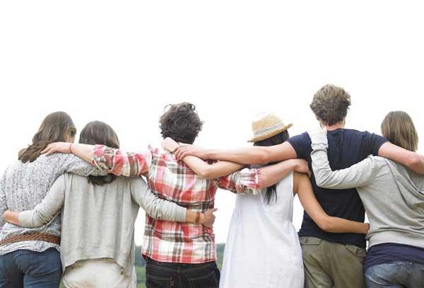 Urlaub mit Freunden