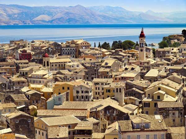 Korfu, Griechische Inseln