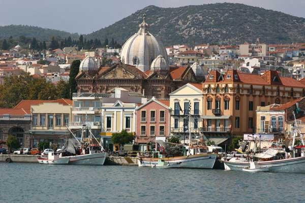 Lesbos: Inselhauptstadt Mytilene
