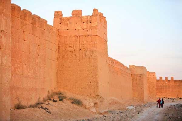 Die Mauern von Taroudant