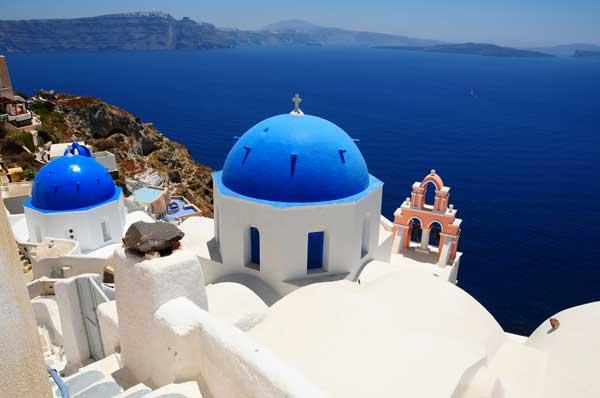 FKK-Strände in Santorini Griechenland