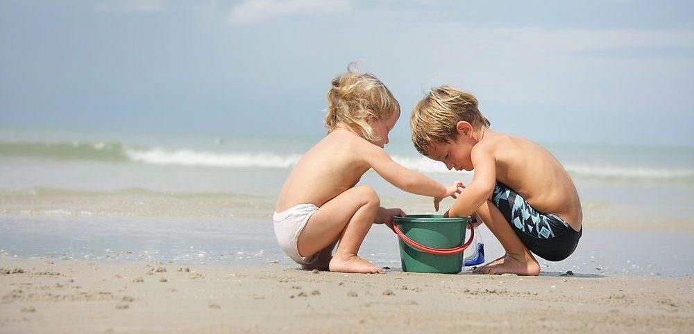 so verhält man sich am Strand