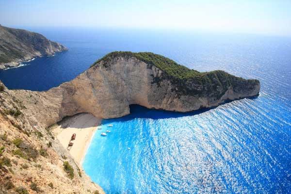 Die Insel Zakynthos, Schmugglerbucht