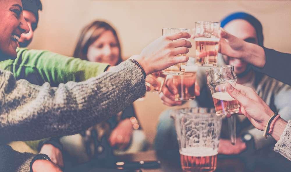 Treffen mit Freunden