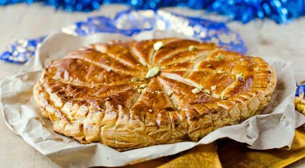 Galette des Rois, Mandelkuchen zum Dreikönigstag