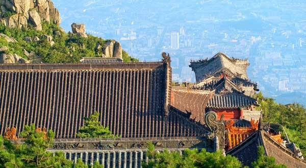 China, Tai San Berg