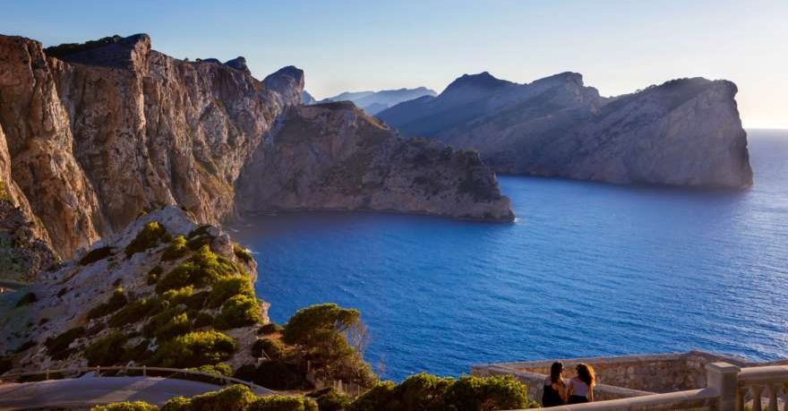 Cap Formentor auf Mallorca in Spanien