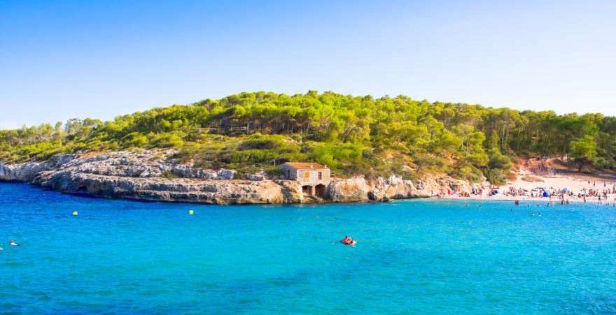 Cala Mondrago auf Mallorca in Spanien