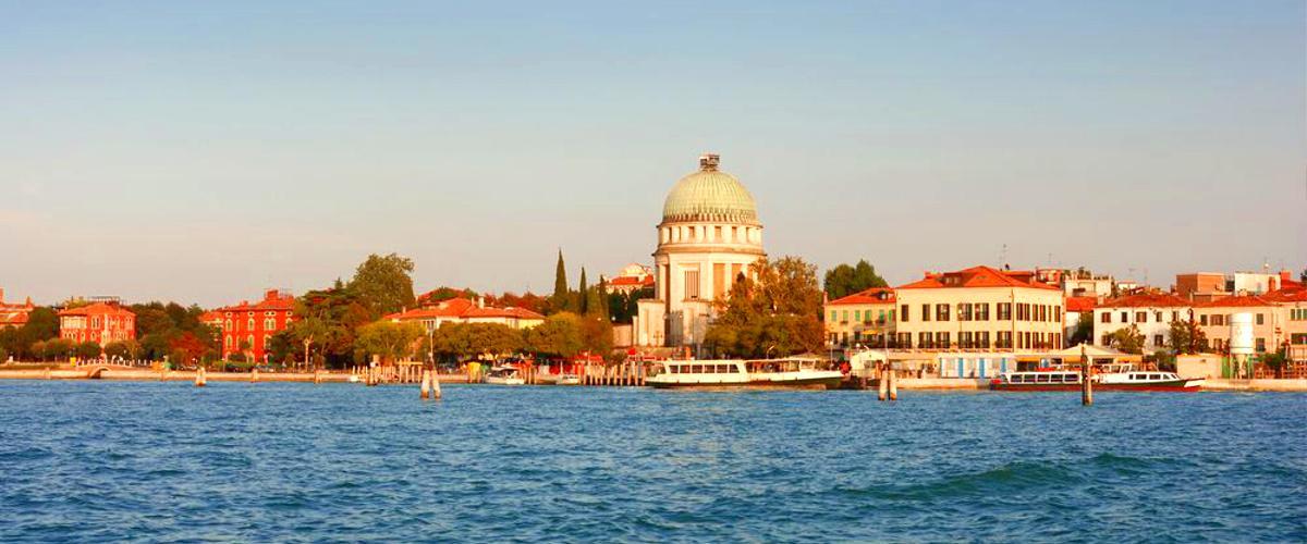 Lido in Venedig in Italien