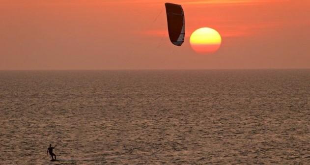 Die schönsten Spots für Kitesurfer...