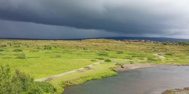 Achtung Gewitter: Das Wetter kann in Island schnell umschlagen