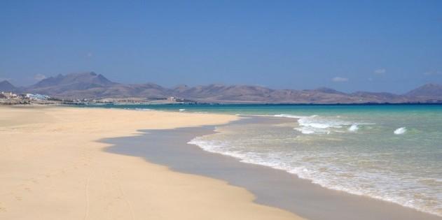 Endlose Strände auf Fuerteventura...