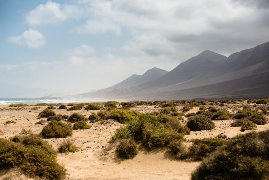 Playa de Cofete auf Fuerteventura