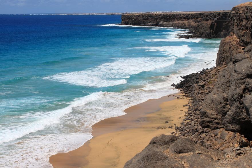 Playa de la escalera auf Fuerteventura