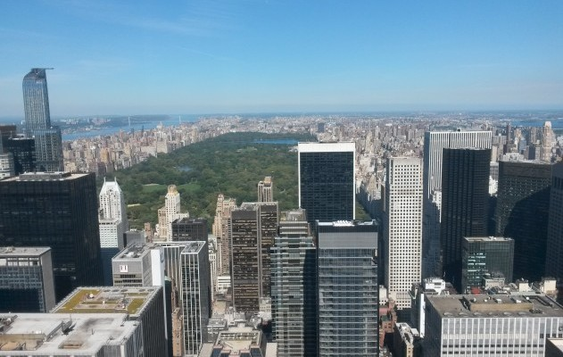 Top of the Rock: Der Central Park