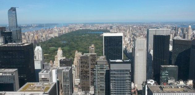 Central Park in New York in den USA