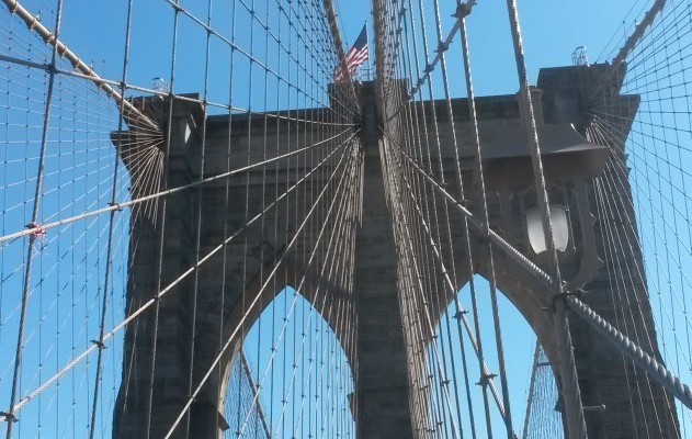 Die berühmte Brooklyn Bridge