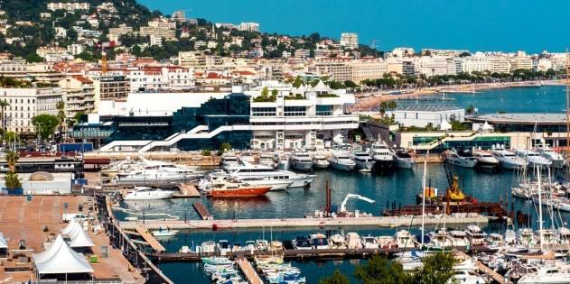 Cannes - bekannt durch das internationale Filmfestival