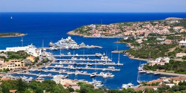 Costa Smeralda in Sardinien in Italien