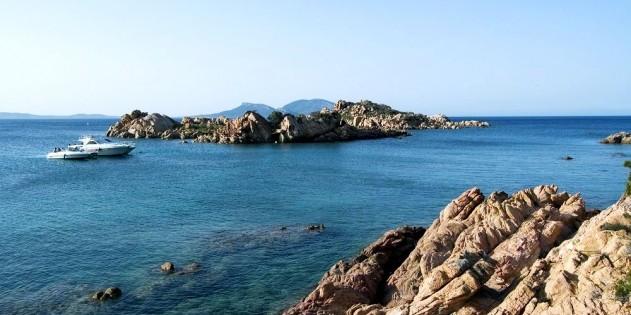 Olbia in Sardinien in Italien