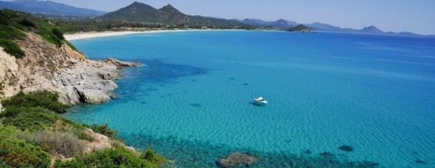 Kueste von Sardinien in Italien