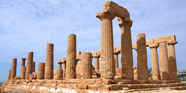 Die Ruine Agrigento auf Sizilien
