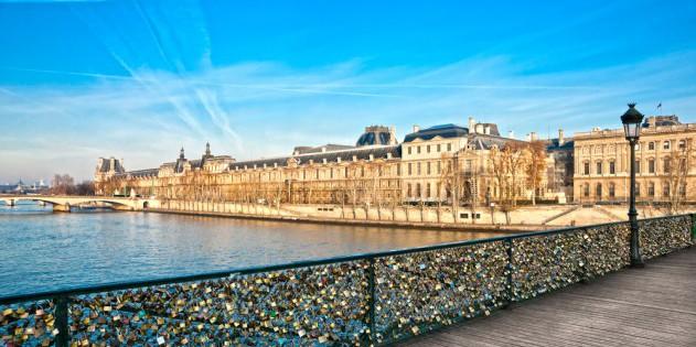 Das Louvre in Paris