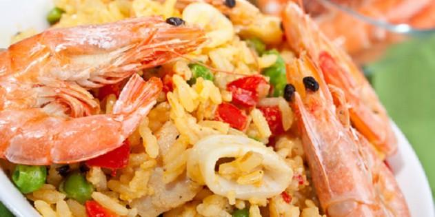 Die kulinarische Spezialität Paella