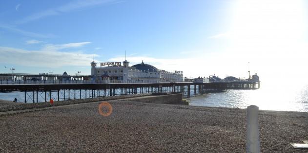 Tolle Stimmung am Pier von Brighton