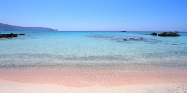 Pinker Sand auf den Bahamas