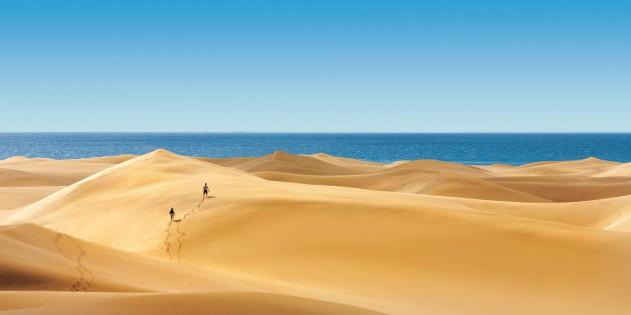 Die Dünen von Gran Canaria sind ein einzigartiges Naturschauspiel!