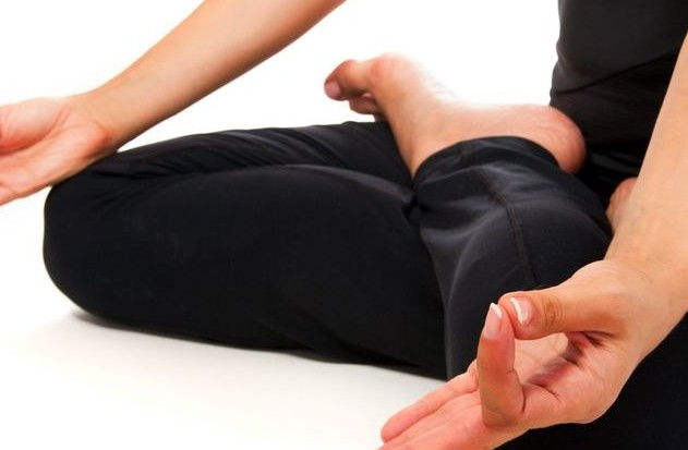 Yoga sitzend