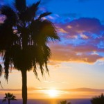 traumhafter Sonnenuntergang auf Gran Canaria
