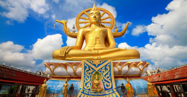 Big Buddha auf Koh Samui