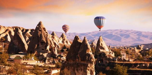 Kappadokien in der Türkei