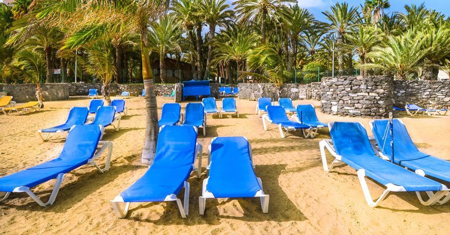 Strand San Agustin auf Gran Canaria