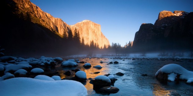 Der Yosemite Nationalpark in den USA