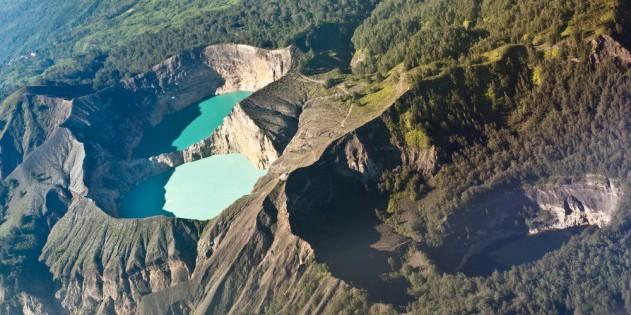 Die Kraterseen des Kelimutu