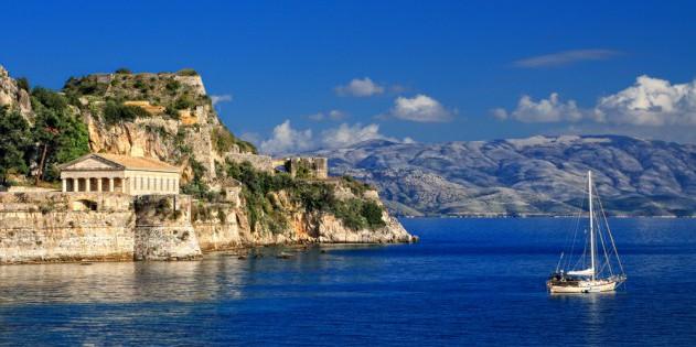 Hellenischer Tempel auf Korfu