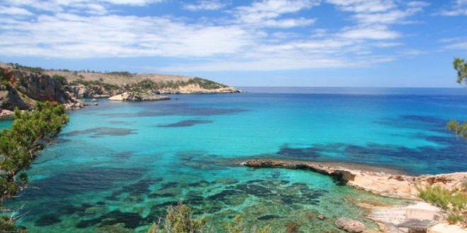 Ibiza Karte Strande.Die 9 Schonsten Strande Auf Ibiza