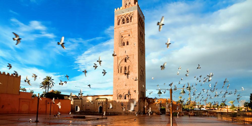 Koutoubia Moschee in Marrakesch in Marokko