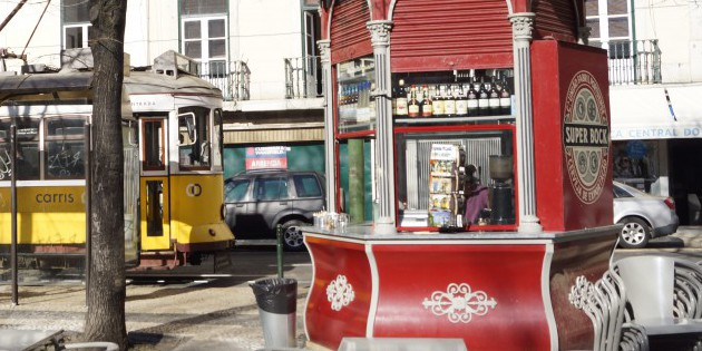 """Quiosques"" in Lissabon"
