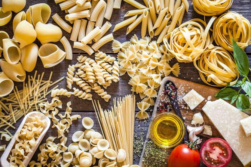 Italienische Nudeln