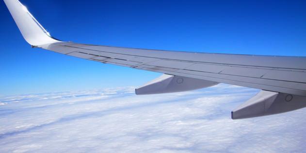 Flug nach Ägypten