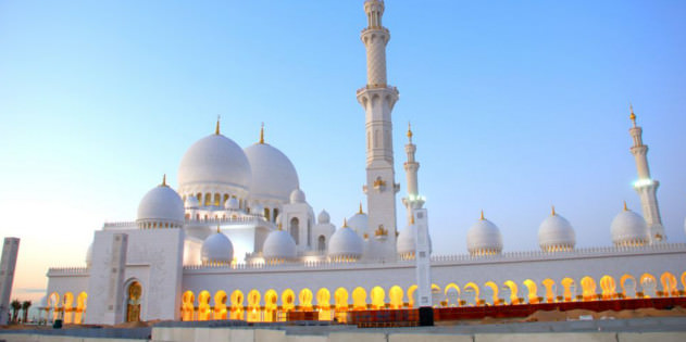 Abu Dhabi Moschee