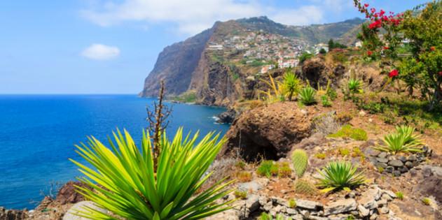 Madeiras Küste