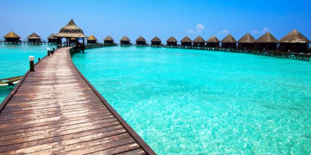Hotel auf Malediven