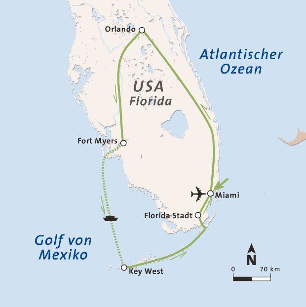 Erlebnis Florida: 5vorFlug Rundreise